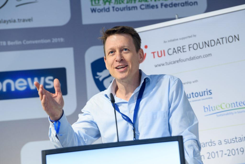 Prof. Zeiss auf der ITB-Convention 2019 in Berlin